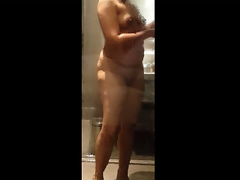 Sexy Indian Wife Hemlata Shower
